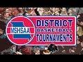 District Basketball 2 Van Far Indians vs 1 Canton Tigers