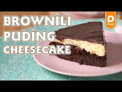 Brownili Puding Cheesecake Tarifi