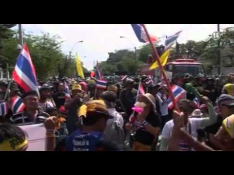 VTC14_Bất ổn chính trị leo thang tại Thái Lan