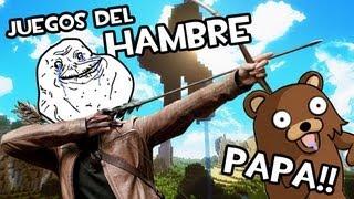 Minecraft FOREVER ALONE EN LOS JUEGOS DEL HAMBRE Gente