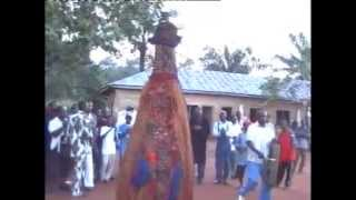 Igbo masquerade Mmanwu ndi Orlu.