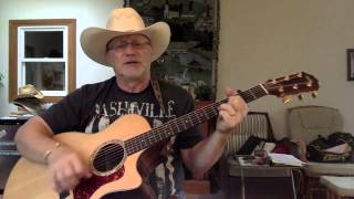 1642 Hello Darlin' Conway Twitty Cover With Guitar