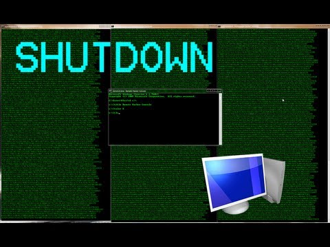 Hacking: How To Remotely Shutdown Any Computer - YouTube
