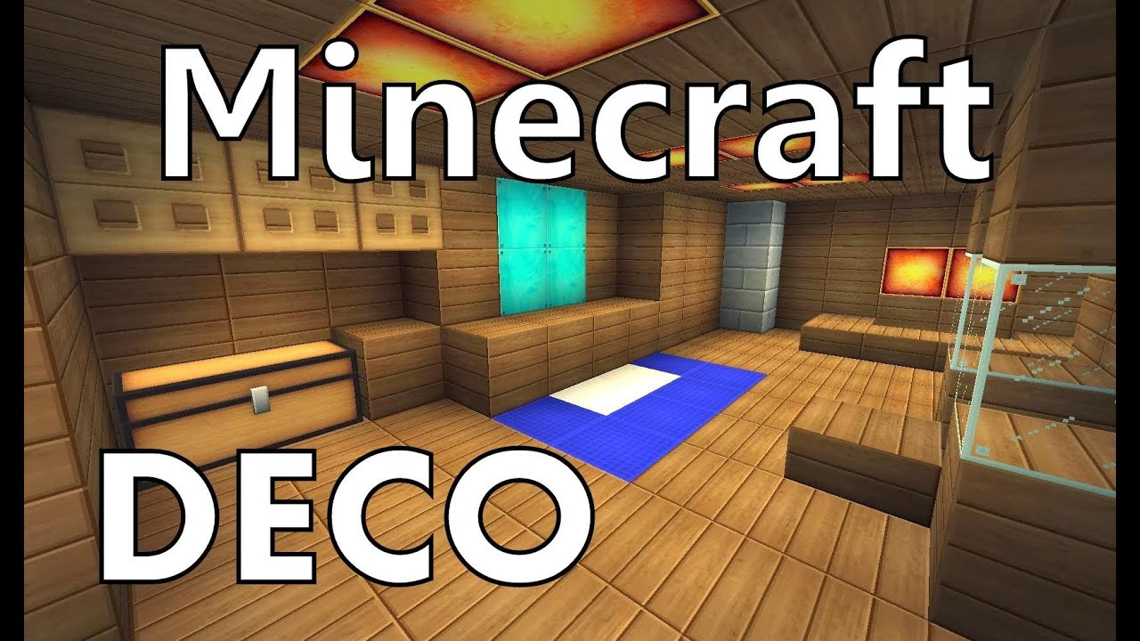 Comment faire une chambre moderne minecraft for Salle a manger minecraft