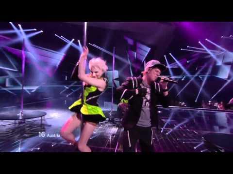 HD Eurovision 2012 Austria: Trackshittaz - Woki Mit Deim Popo (Semi-Final 1)