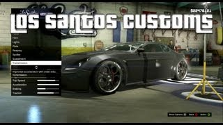 GTA V - 'Los Santos Customs' Achievement Guide (Checklist)