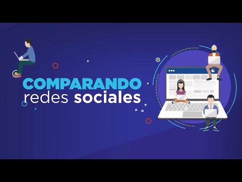 Infografía Comparación Redes Sociales