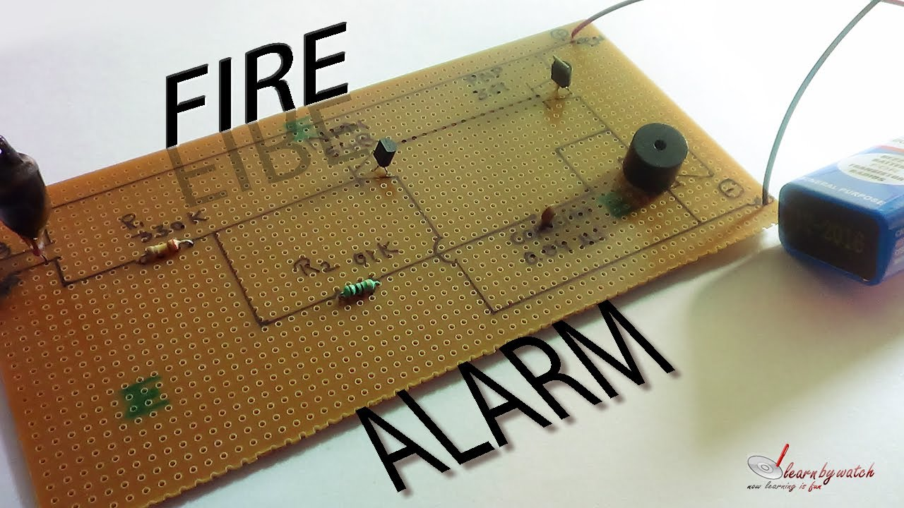 working principle of fire alarm system pdf