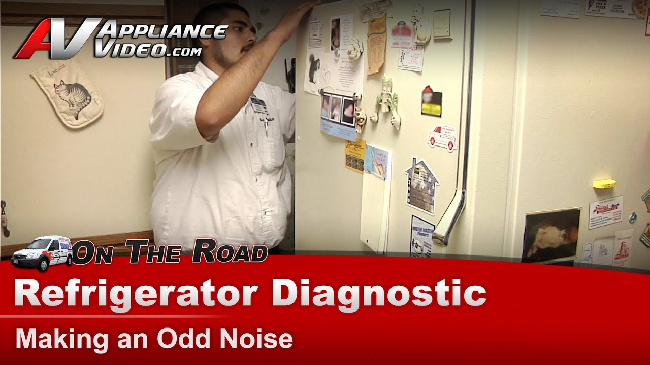 Whirlpool Refrigerator Diagnostic - Making an Odd Noise ...