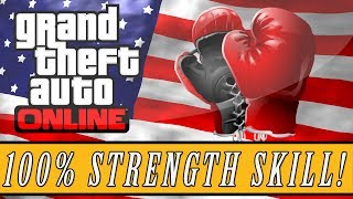 GTA 5: ONLINE Fastest Way To Max Your Strength Skill
