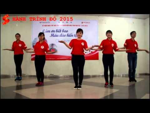 Hành Trình Đỏ 2015: Hướng dẫn nhảy dân vũ Chung Sống