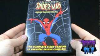 DVD Spot The Spectacular Spiderman Complete First Season