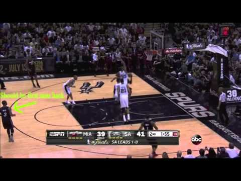 Dwyane Wade Defense 2014 NBA Finals