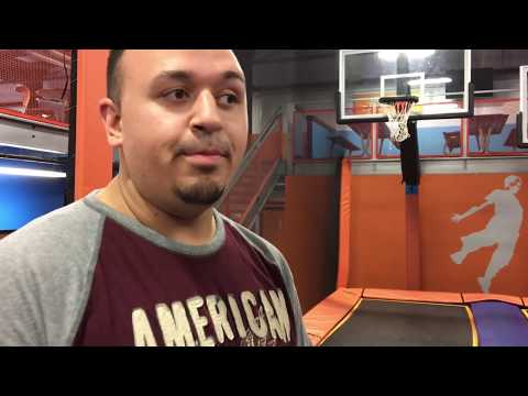 TRAMPOLINE PARK FUN! w/ Uncle Crusher, Anthony & Dingle Mom! Bounce in the Foam Pit || VLOG