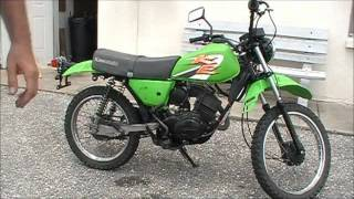 2000 Kawasaki KE100- Last Of The 2-strokes