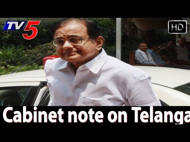 Cabinet note on Telangana formation  High Tension - TV5