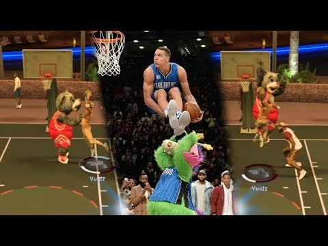 EMBARRASSING MASCOTS WITH MY GODLY SLASHER!!!   NBA 2K17 MyPark