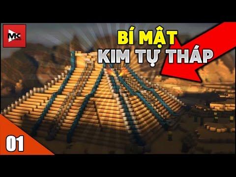 Khám Phá Bí Ẩn KIM TỰ THÁP Ai Cập - Minecraft Khủng Long Thời Hiện Đại [1] | MK GAMING