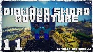 [Coop] Minecraft Diamond Sword Adventure. #11: Новый лабиринт.