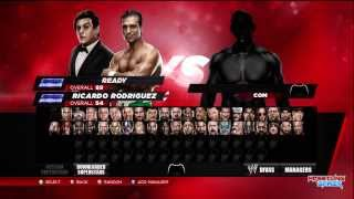 WWE 2K14 All Unlocked Superstars And Divas!