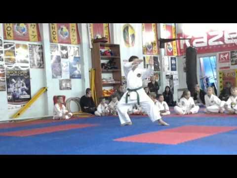 Экзамен по каратэ 13 октября 2013 года в клубе Тигренок.ч.4