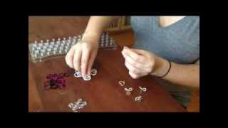 How To Make A FunLoom Rubber Band Bracelet With Multiple