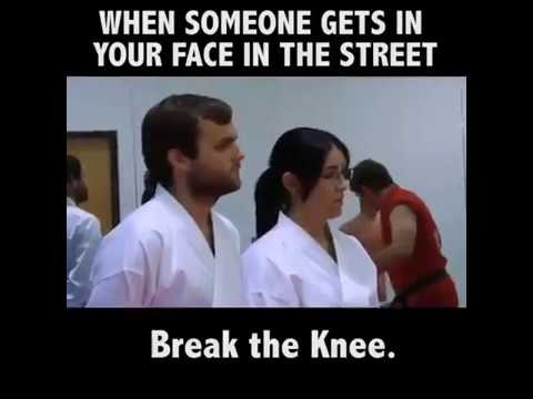 How to self defense (FUNNY)
