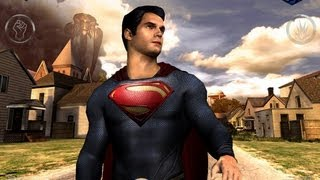 Superman Man Of Steel HD IPad Gameplay Let's Play Review