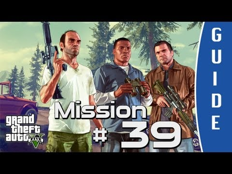 GTA V (Grand Theft Auto 5) Walkthrough | Caida Libre | Mission #39 [HD]