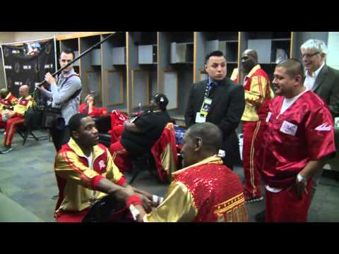Adrien Broner Clowns Team Maidana Backstage Before Fight  - SHOWTIME Sports