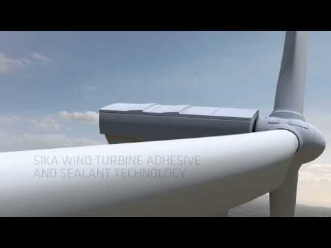 Sika - Turbine adhesives and sealant technology for windmills
