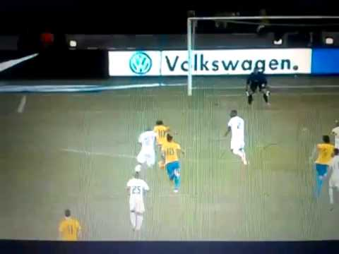 Neymar Goal  South Africa vs Brazil 0-2 5/03/2013 HD