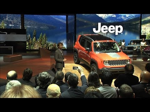 All-new 2015 Jeep Renegade Reveal at the Geneva Motor Show