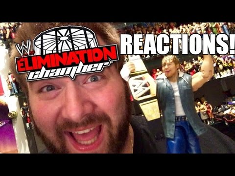 Grim's WWE ELIMINATION CHAMBER 2015 REACTIONS and REVIEW!