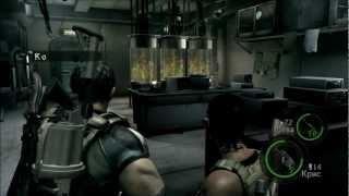 [Coop] Resident Evil 5 - Серия 17: Правда о Вескере..
