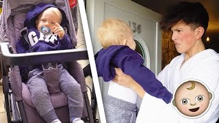 Someone left a Baby on my Doorstep... **MUST WATCH**