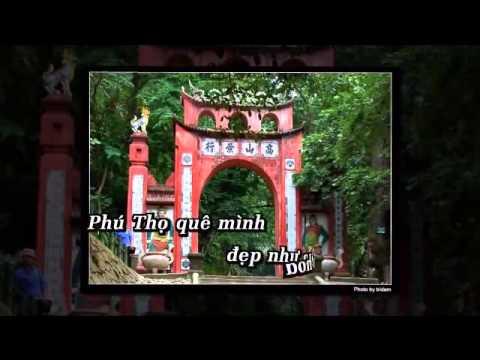 Câu Ca Em Hát Phú Thọ Quê Mình - Thanh Hoa KARAOKE
