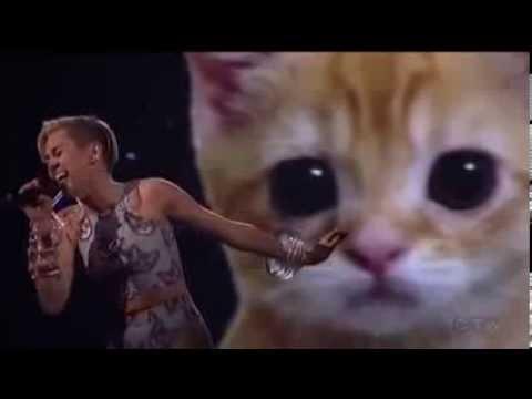 MILEY CYRUS | American Music Awards 2013 Performance | WRECKING BALL