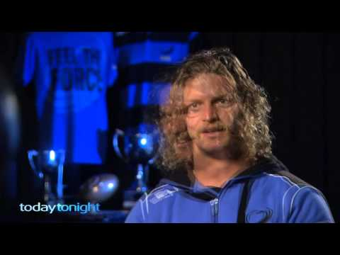 Today Tonight interview with the Honey Badger | Super Rugby Video - Today Tonight interview with the