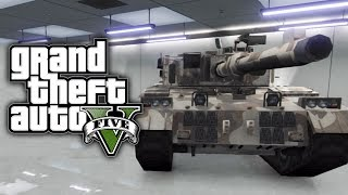 GTA 5 Online: How To Save & Insure A TANK In Your Garage