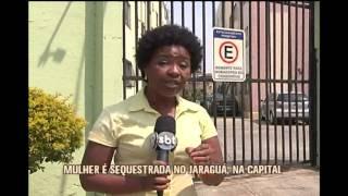 Mulher sofre sequestro-rel�mpago e quase � abusada sexualmente no Bairro Jaragu�
