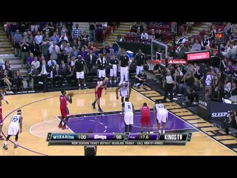 Washington Wizards vs Sacramento Kings | March 18, 2014 | NBA 2013- 14 Season