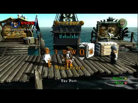 Lego Pirates of the Caribbean Codes, Cheats, Tips and Secrets List Wii, PC, PS3, Xbox 360