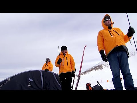 Cold Weather training for dummies - Top Gear Polar Special Pt.1 - Now in HD - BBC