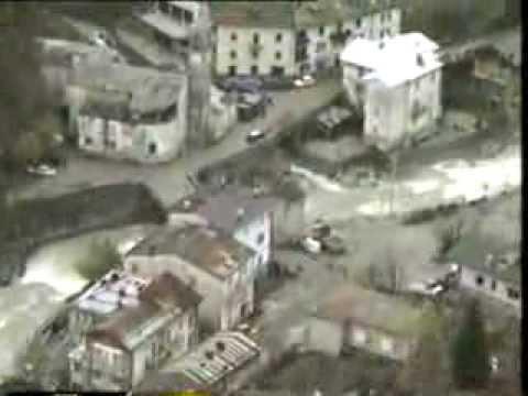 Alluvione 1994, il reticolato idrografico