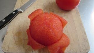 Как се белят домати по НАЙ-БЪРЗИЯ начин!!! Вижте!!!