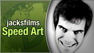Jacksfilms: Speed Art