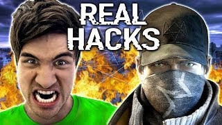 [Real Watch Dogs Hacks (w/ Rob Dyrdek)] Video