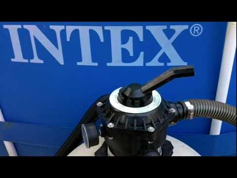 intex pool hose hook up