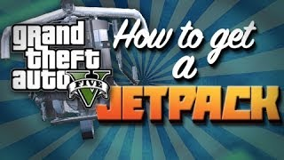 GTA V: HOW TO GET THE JETPACK: JETPACK FOUND IN GTA V